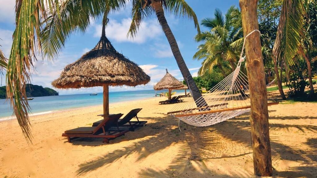 Paradise Cove Resort, Fiji.