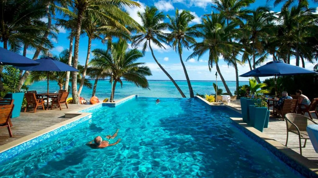 Little Polynesian Resort, Cook Islands.