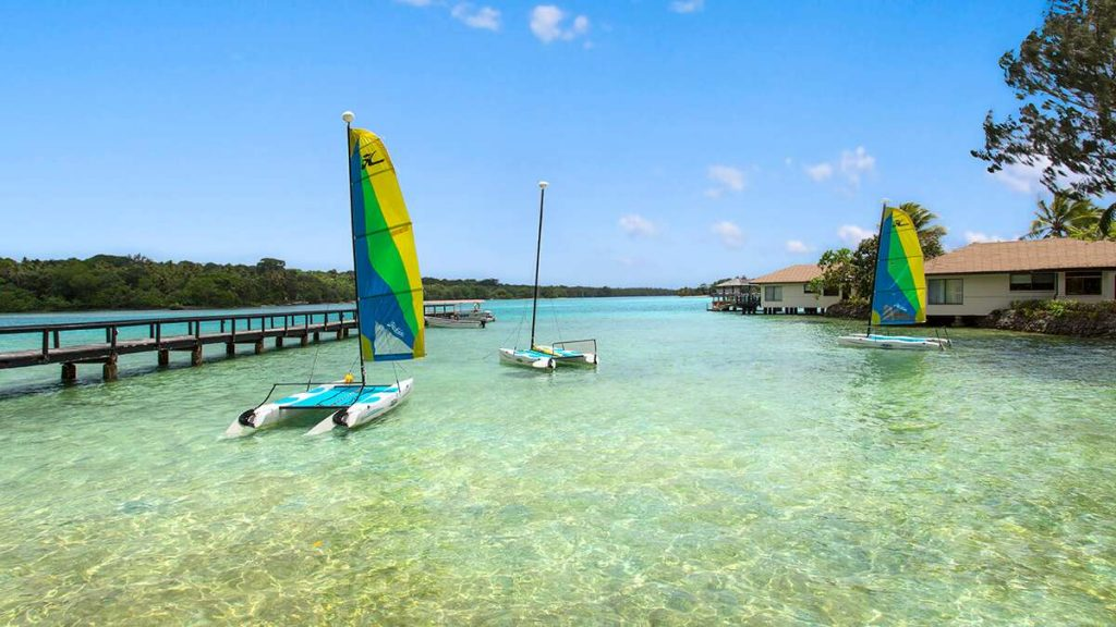 Warwick Le Lagon Resort and Spa, Vanuatu.